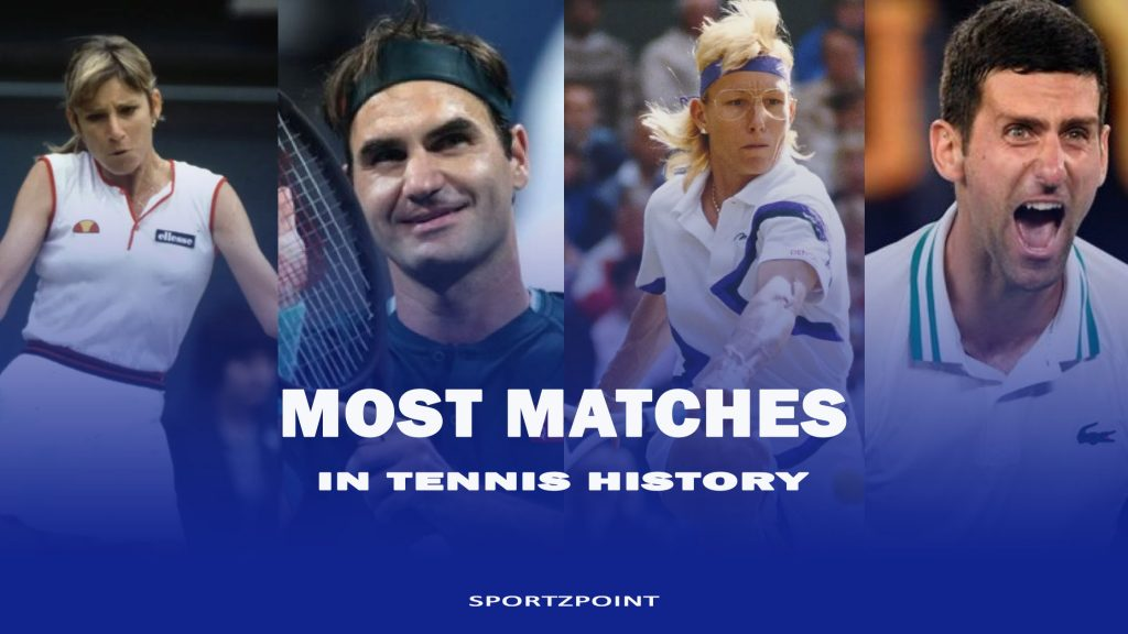 Most matches played by Tennis players: Tennis Records- SportzPoint