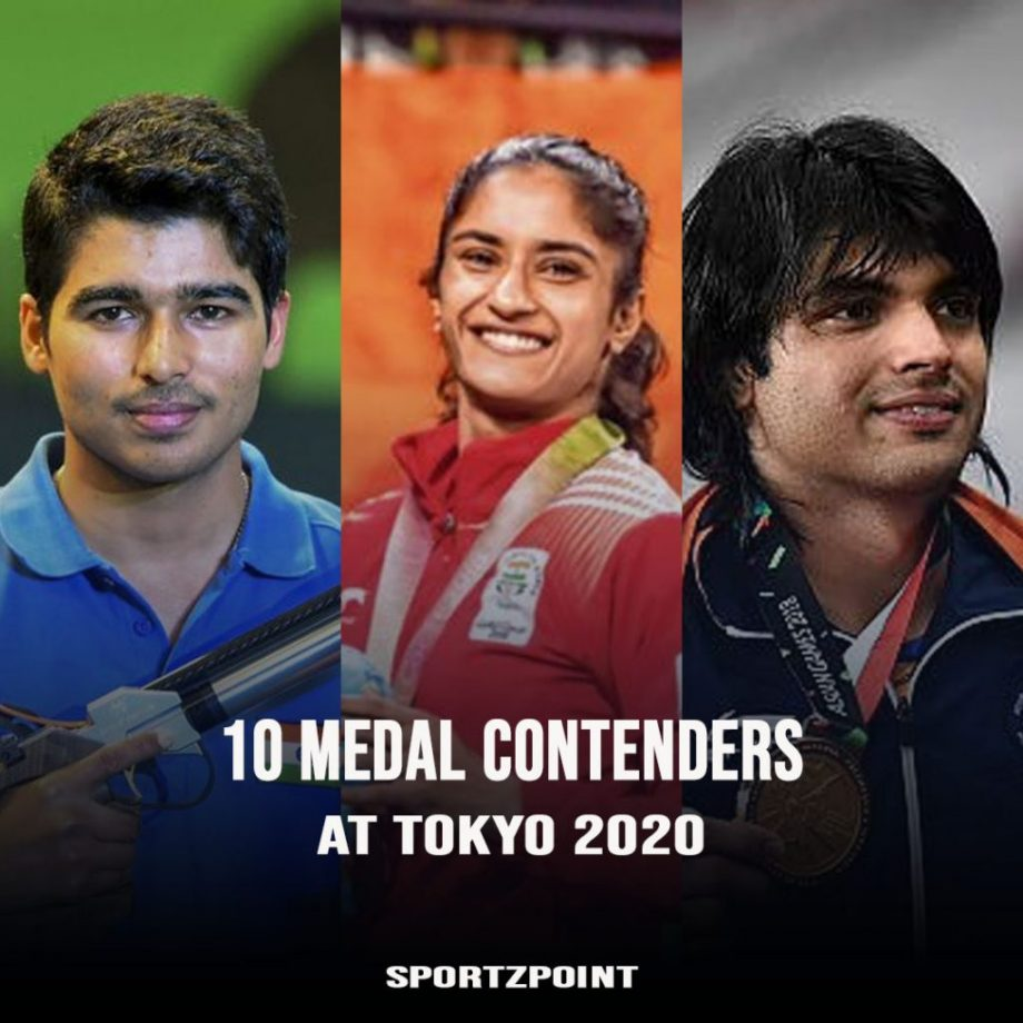 India's top 10 medal contenders at Tokyo- SportzPoint