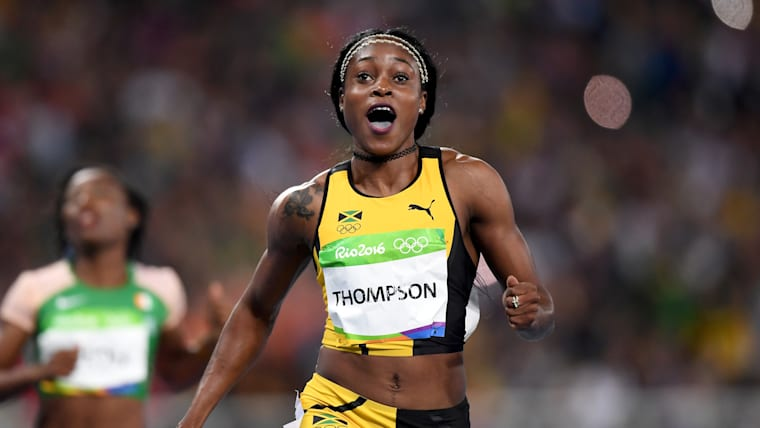 amaican Sprinter Elaine Thompson sets new Olympic Record   SportzPoint