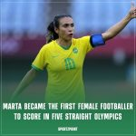 Olympic Record: Marta becomes the first women footballer to score in five straight Olympics   Women in sports   SportzPoint